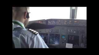Aeroplane Video - Boeing 737 Southwest Airlines - Plane Landing Cockpit Landing cockpit view landing
