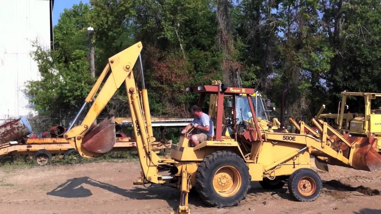 Case Backhoe For Sale >> 1984 Case 580E Backhoe For Sale by Big Iron, Inc. - YouTube
