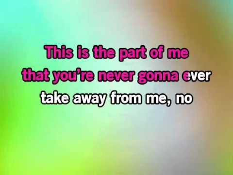 Katy Perry Part Of Me KARAOKE
