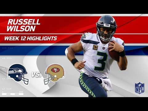 Russell Wilson Leads Seattle to Victory vs. San Francisco! | Seahawks vs. 49ers | Wk 12 Player HLs