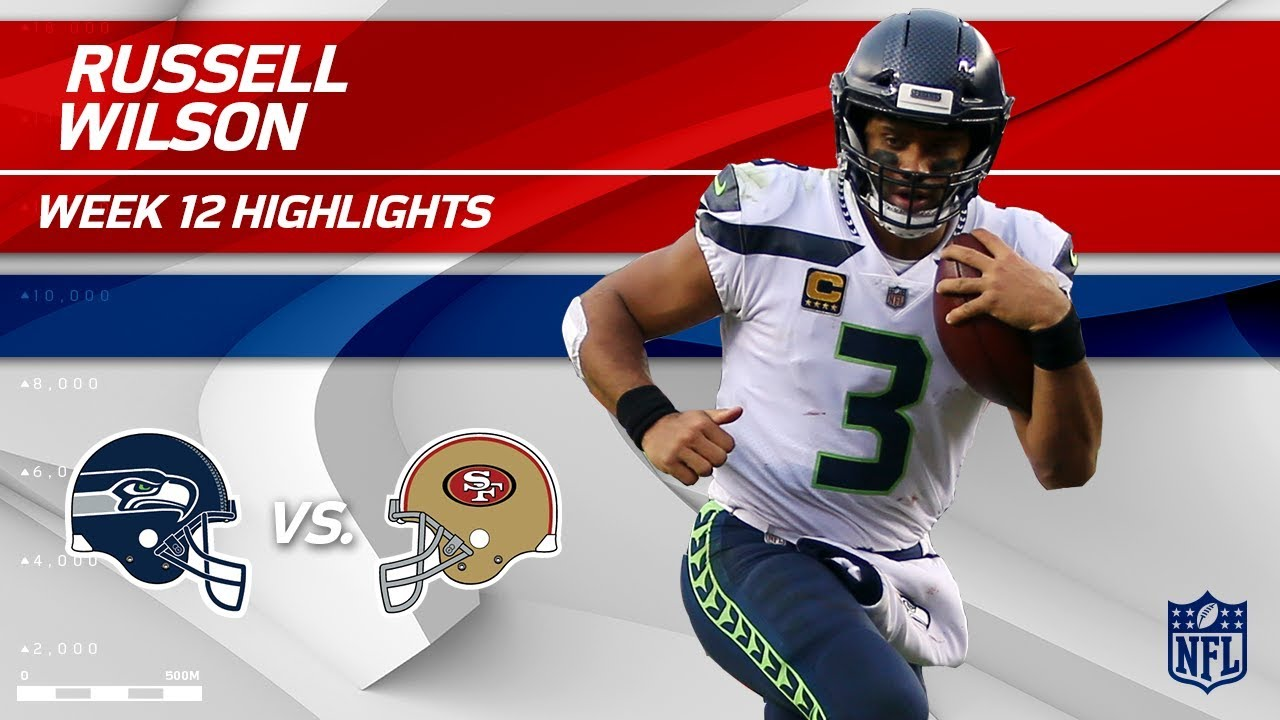 Russell Wilson Leads Seattle To Victory Vs San Francisco Seahawks Vs 49ers Wk 12 Player Hls