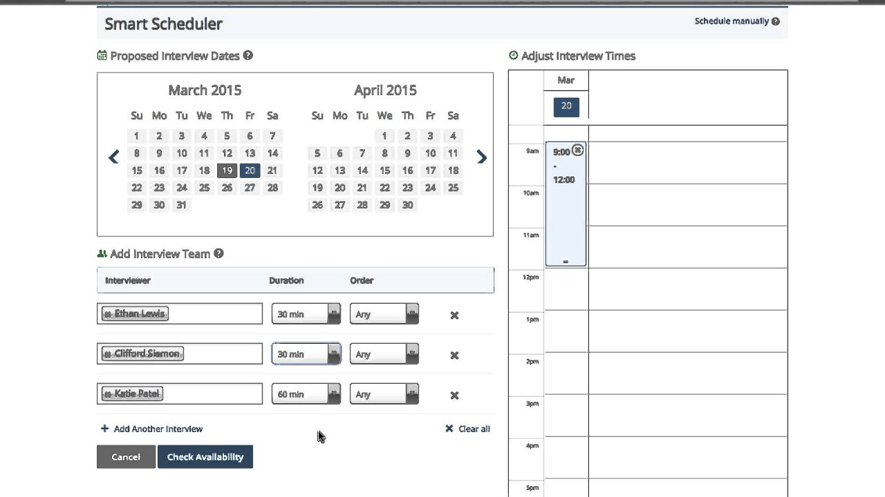 Jobvite How To: Interview Scheduling with Smart Scheduler