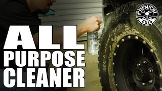 Best Tire & Wheel Cleaner - Chemical Guys NONSENSE All Purpose Cleaner