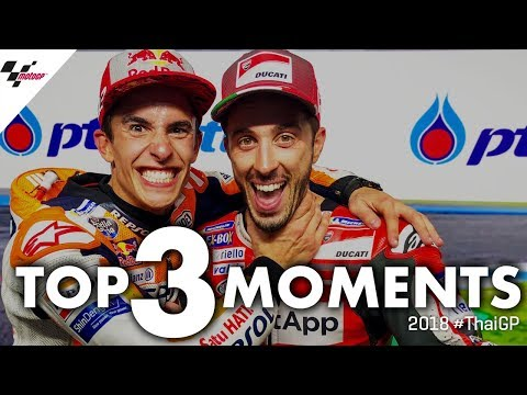 Top 3 moments from the 2018 #ThaiGP!