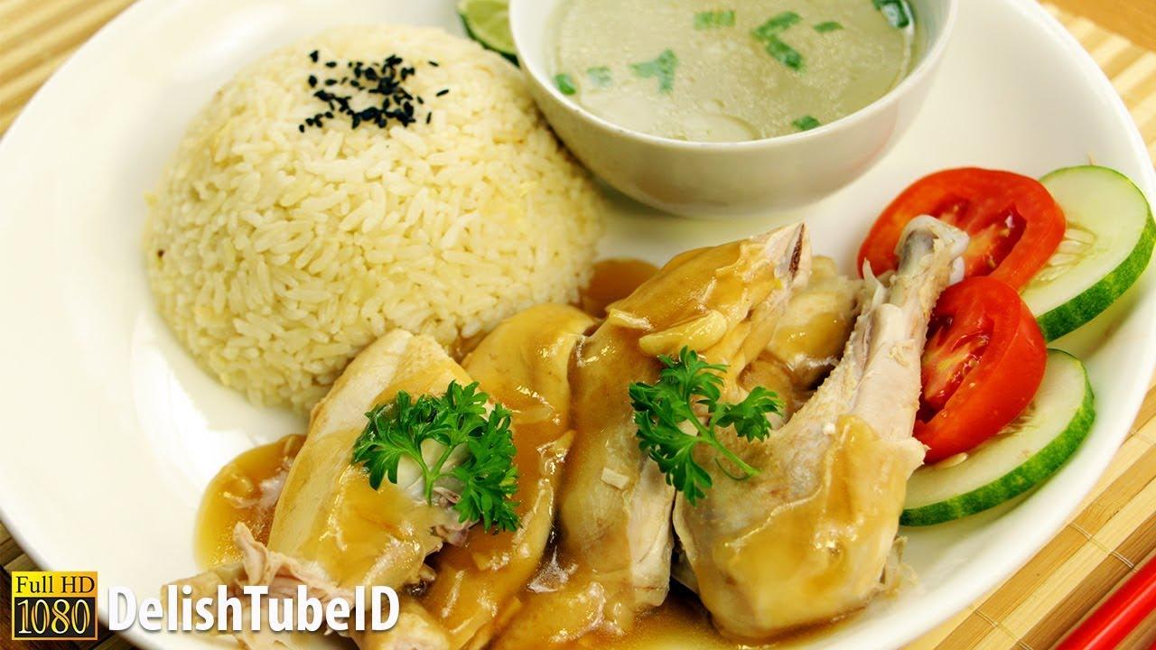 Resep Nasi Ayam Hainan Youtube
