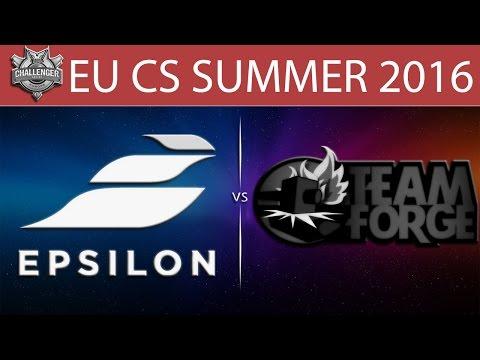 [LoL VODs] EPS vs 4G Game 1 | EU CS Summer 2016 (28.06.2016) - Epsilon eSports vs Team Forge