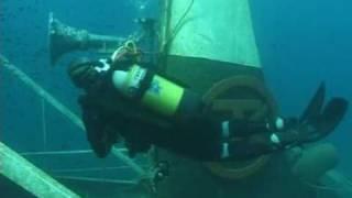 Diving Service - Torre Vado (LE) - Sul relitto del Tevfik Kaptan 1