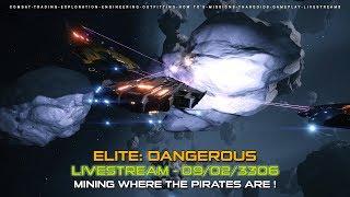 Elite Dangerous - Mining where the pirates are !