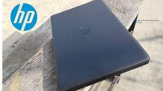 unboxing hp 15-db0xxx laptop and overview the specifications