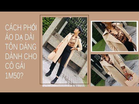 Cách Mặc áo Dạ Dài Tôn Dáng Cho Cô Gái 1m50 | Linh Linh Dinh