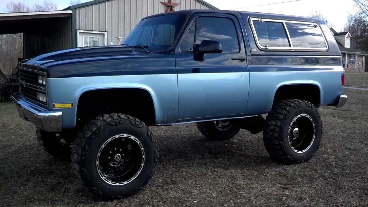 hight resolution of lifted 1985 chevy blazer