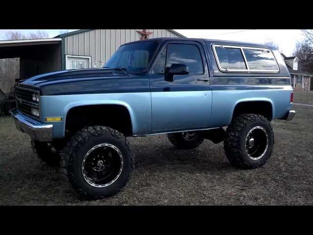 Lifted Blazer K5 1990 Youtube