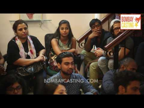 Bombaycasting Acting Workshop By Renowned Filmmaker Mrigdeep Singh Lamba