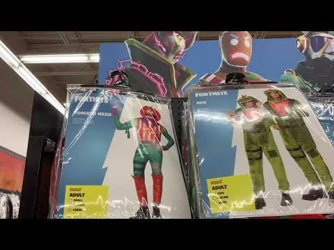 FORTNITE HALLOWEEN COSTUMES 2019 *NEW* *Exclusive* At SPIRIT HALLOWEEN
