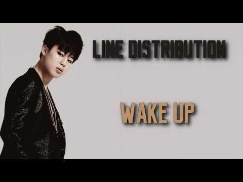 BTS - Wake Up (Line Distribution)