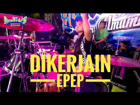 EPEP NGERJAIN TEMEN2 ,,PAKE JEEP BARU.TONTON SAMPAI ENDING!!!