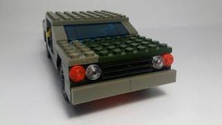 Сборка 2-й версии машины с независимой подвеской из лего!
