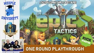 Gambar cover Tiny Epic Tactics Board Game – One Round Playthrough