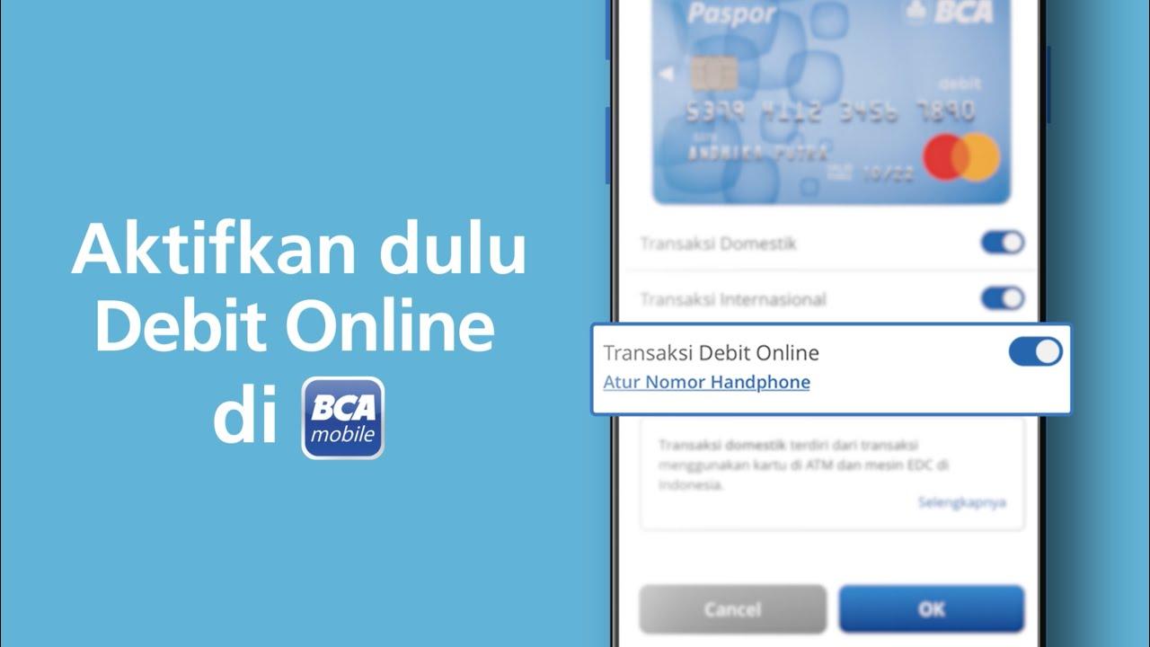 Bca Debit Online Paypal
