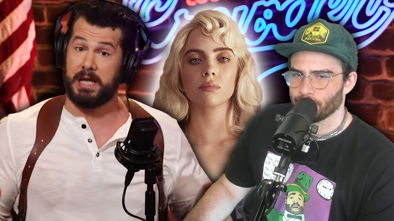 Steven Crowder LOSES HIS MIND Over Billie Eilish Photoshoot