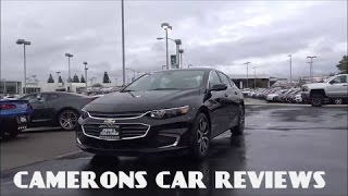 2016 Chevrolet Malibu 2LT Review: Camrys Worst Enemy? | Camerons Car Reviews