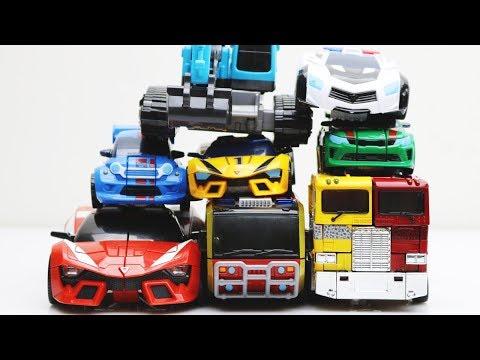 Tobot Stop Motion Robot Adventure Vs Athlon! Cargo Vs Giga 6 Mainan Car Toys