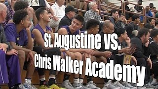 St. Augustine vs. Chris Walker Academy, UA Holiday Classic Consolation, Quarterfinal, 12/28/16