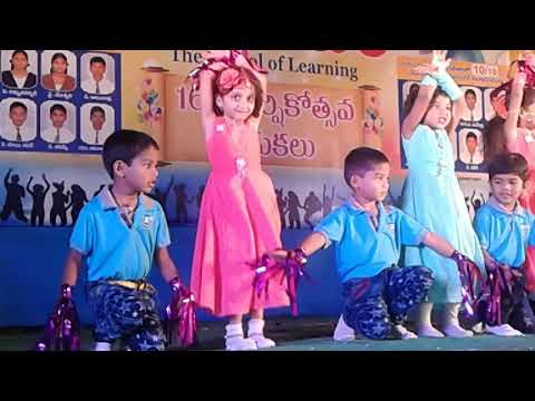 School Annual Day Performance By Ritvika In Ukg(1)