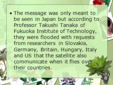 Crown Capital Management Jakarta Indonesia   Mini satellite from Japan will send Morse