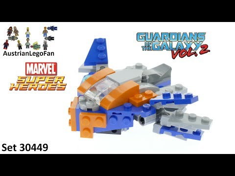 Lego Super Heroes 30449 The Milano - Lego Speed Build Review