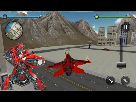 ► plane Robot hero super Transforming War (Mizo Studio Inc) Android Gameplay