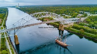 SSV Oliver Hazard Perry - 4K Cape Cod Canal