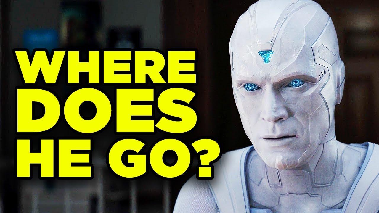 WandaVision Finale White Vision Explained! Episode 9 Q&A   Inside Marvel Bonus