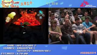 Summer Games Done Quick 2014 - Part 3 - Ape Escape 2