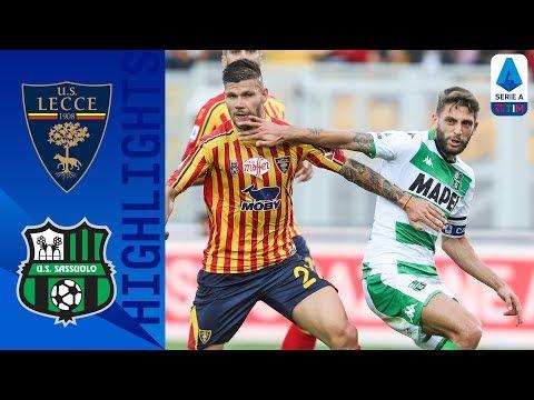 Lecce 2-2 Sassuolo | Berardi Nets Late Equaliser! | Serie A