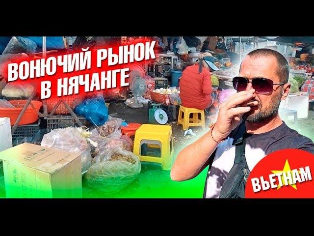 Вьетнам. Рынок Чо Дам в Нячанге. Когда ехать в Нячанг? Обзор еды, отзыв и цены. Влог