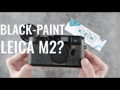 How This Black-Paint Leica M2 Isn't Really a Black-Paint M2
