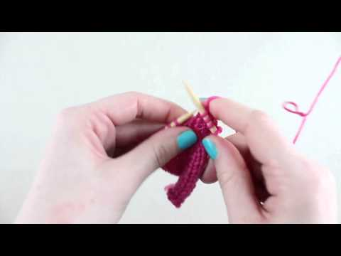 Bow Knot Stitch - YouTube