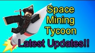 Roblox Space Mining Tycoon: Latest Update!!  New Furniture Store!!