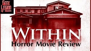 WITHIN ( 2016 Michael Vartan ) aka CRAWLSPACE Horror Movie Review