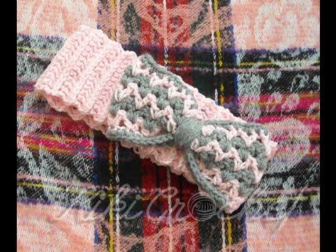 Πλεκτη Κορδελα/ Crochet Headband Tutorial