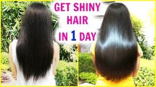 In 1 DAY Get Super Silky & Glossy Hair | DIY Hair Mask - Deep Conditioner | PrettyPriyaTV
