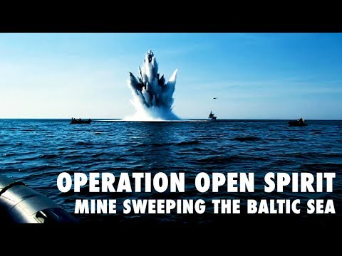 Operation Open Spirit - mine sweeping the Baltic Sea