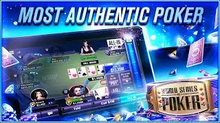 World Series of Poker – WSOP Free Texas Holdem Android Gameplay