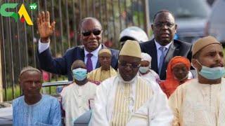 """Convergence """"Taxaw Ndonoy Mag Gni"""" Pour La Réconciliation Entre Macky Sall Et Alpha Condé"""