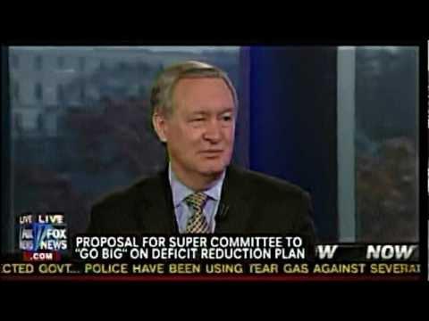 Senator Mike Crapo discusses the super committee on America