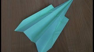 Как сделать самолетик из бумаги который долго летает