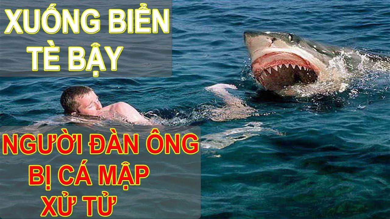 Xuống biển tè bậy, người đàn ông bị cá mập xử tử
