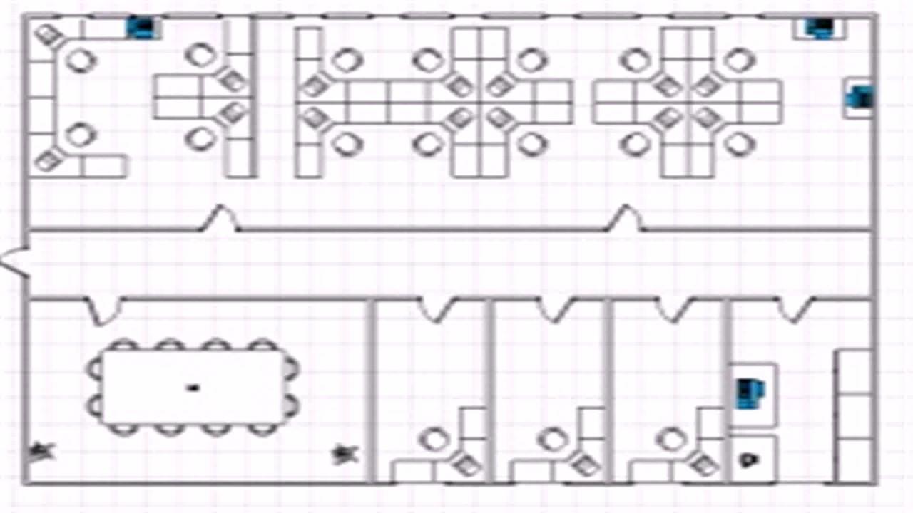 Visio 2003 Floor Plan Template