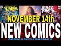 NEW COMIC BOOKS RELEASING NOVEMBER 14th  2018. MARVEL COMICS DC COMICS X-MEN COMICS WEEKLY PICKS